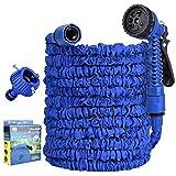 JFFFFWI 7 Muster Wasserspritzpistole mit Armaturen Schlauchverlängerung Gartenschlauch Flexibler...