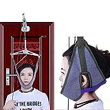 Z-ZH Tracción Cervical portátil del Cuello para Fisioterapia, sobre la Puerta, Alivio del Dolor del Hombro del Cuello