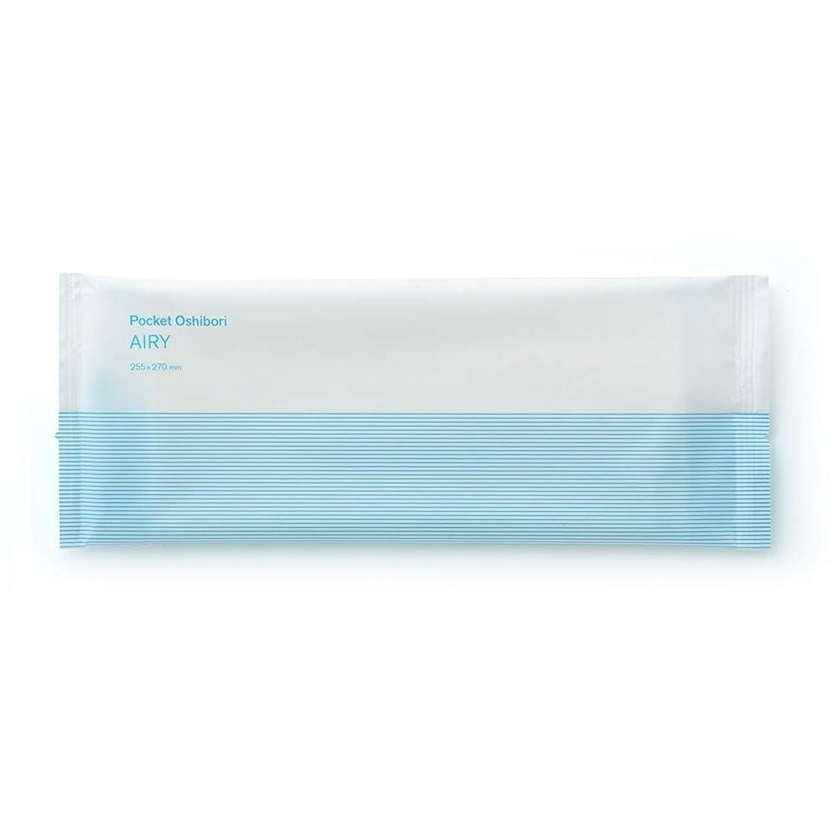 ハンサムスクラップブックルーキーFSX スパンレース紙おしぼり AIRY BLUE 1パック 100本 大判 厚手 業務用