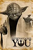 Star Wars - Master Yoda May The Force be with You -