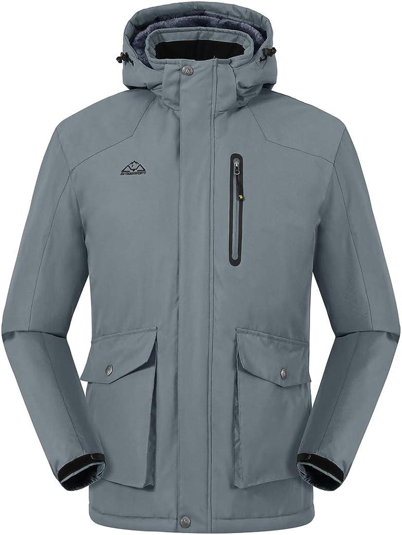 Chaqueta impermeable para hombre con capucha Donhobo