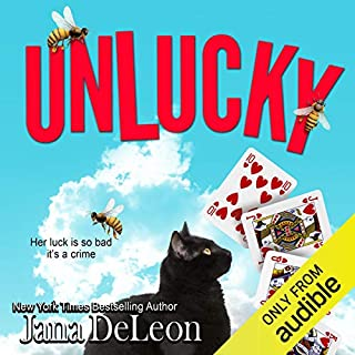 Unlucky                   By:                                                                                                                                 Jana DeLeon                               Narrated by:                                                                                                                                 Johanna Parker                      Length: 9 hrs and 37 mins     130 ratings     Overall 4.3