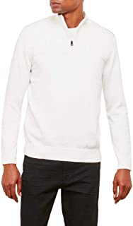 Kenneth Cole New York Men's Solid & Marled 1/2 Zip Sweater