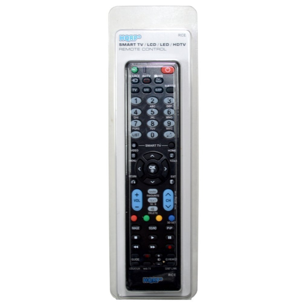 HQRP Mando a Distancia Universal para LG 32LF630V, 40LF630V, 49LF630V, 55LF630V Televisor FHD con Smart TV: Amazon.es: Electrónica