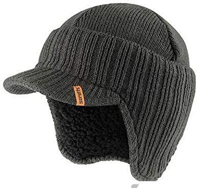 Invierno| 100/% Lana Visera Gorro de Hombre Boina Flatcap Ivy