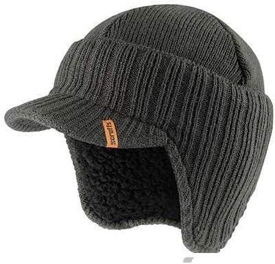Scruffs T50986 - Gorro de lana (interior de borreguillo), color negro: Amazon.es: Bricolaje y herramientas