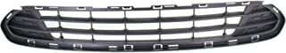 Bumper Grille compatible with ford Fusion 10-12 Front Textured Gray CAPA Certified