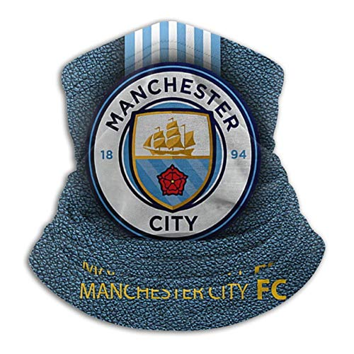 Manchester City Face Bandana Neck Gaiter Reusable Washable Cloth Fabric Covers Scarf Month Balaclava for Men
