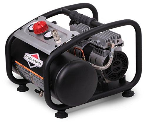 Briggs & Stratton 1.8-Gallon Quiet Power Technology Air Compressor 074026-00,Black