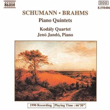 Schumann, R. / Brahms: Piano Quintets