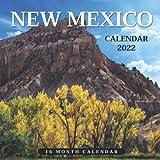 New Mexico Calendar 2022: Monthly Square Calendar 2022-2023, 16 Month Calendar, Travel & Scenic Calendar, Home And Office Calendar Perfect Calendar for Organizing & Planning