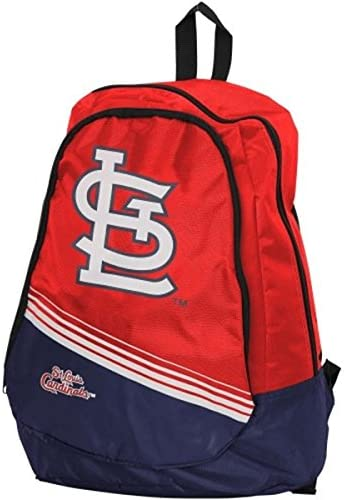 MLB Max 70% OFF In a popularity St. Louis Cardinals 2015 Red Backpack Core Stripe