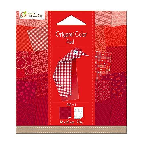 Avenue Mandarine 42682O - Tablero para Manualidades, Color Rojo