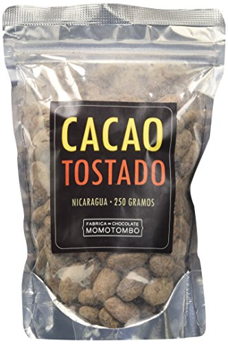 Fabrica de Chocolate Momotombo Fave di Cacao Tostate Non Pelate - 250 g