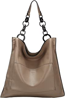 Ladies Genuine Leather Handbags and Purses Hobo Shoulder Tote Bag for Women Designer On Sale with Bucket Style