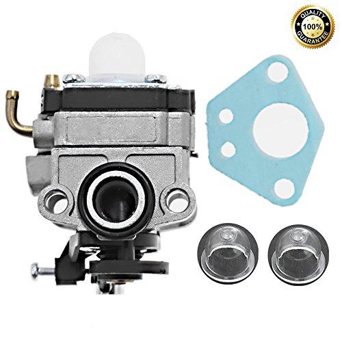 753-05676A Carburetor For Troy-Bilt TB4BP TBP6160 Blower Trimmer Carb w/Primer Bulb Gasket