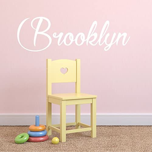 Fancy Cursive Single Personalized Custom Name Vinyl Wall Art Decal Sticker 36 W Girl Name Decal product image