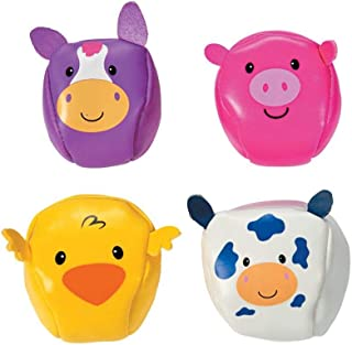 15 Old MacDonald Farm Animal Stickers Party Favors Teacher Supply Cow Pig Sheep