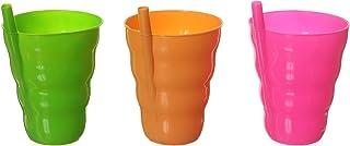 Lamsa Plast Drinkware Set Of 3 Mug - Multi Color