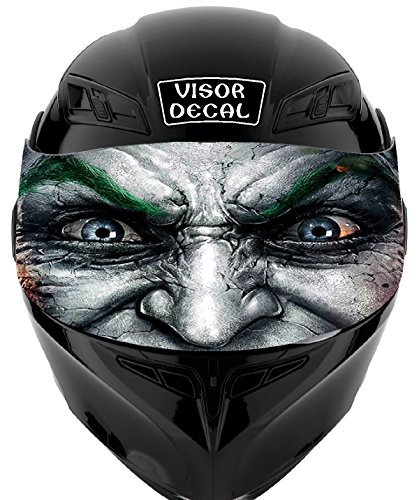 V18 Joker VISOR TINT DECAL Graphic Sticker Helmet Fits: Icon Shoei Bell HJC Oneal Scorpion AGV