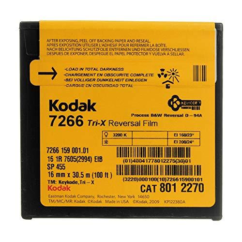 Kodak 7266 Tri-X - Inversor de 16 mm, color blanco y negro (33 m)