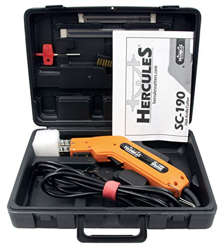 Hercules Handheld Electric Styrofoam Hot Knife and Accessories SC-190 Cutter Kit