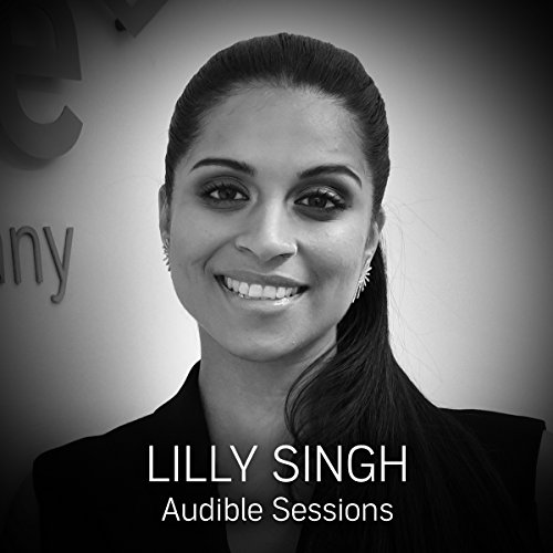Lilly Singh audiobook cover art