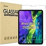 """ProCase Pellicola Protettiva per iPad PRO 11"""" 2020/2018[1a/2a Gen], Vetro Temperato [Alta HD Trasparenza, Anti-Impronte Digitali/Graffi/Agli Urti/Olio]"""