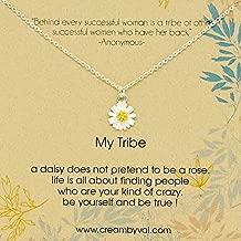 daisy jewellery necklace
