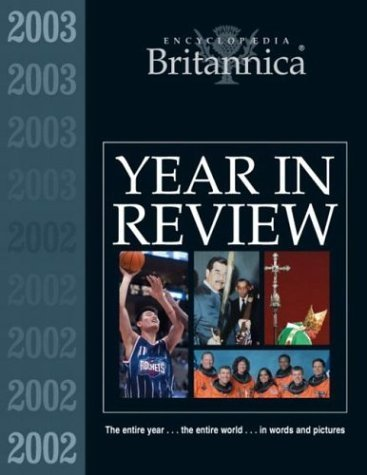 Encyclopaedia Britannica Year in Review 2003-2004
