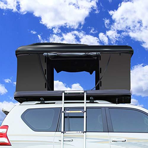 Carpa De Techo Totalmente Automática para Automóvil SUV, Recorrido Autónomo Al Aire Libre, Apertura Rápida De Construcción Sin Automóviles para Dos Personas, Apertura Rápida En Tres Segundos,2