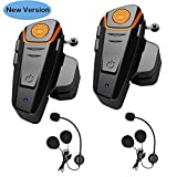Best Motorcycle Bluetooth Headsets - WingSport BT-S2 Motorcycle Helmet Bluetooth Headset Intercom Communication Review