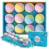 Rosevale Bath Bombs Gift Set,12 Large 5oz Bubble...