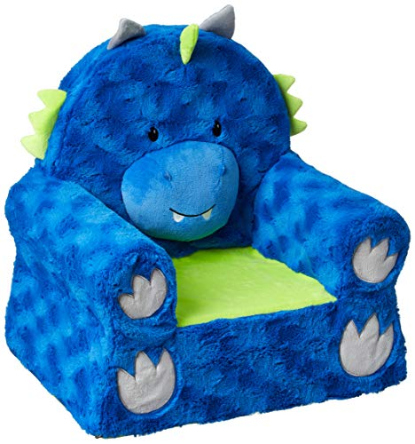 Animal Adventure | Sweet Seats | Blue Dragon Children's Plush Chair