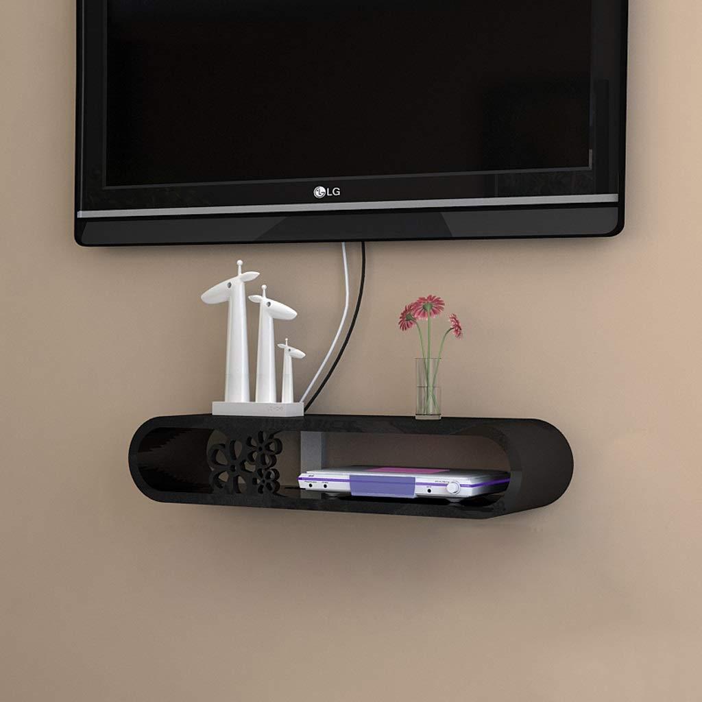 Estante de Pared Estante Flotante Televisor de Pared Gabinete Sala de Estar Dormitorio Estante Reproductor de Dvd Estante para Almacenamiento de Cd Soporte para Tv Blanco / Negro (Color: Blanco, Tama: Amazon.es: