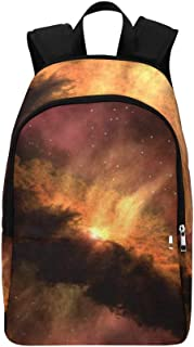 Solar System Emergence Spitzer Telescope Telescope Casual Daypack Travel Bag College School Backpack for Mens and Women