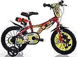 Bici Misura 16 Mickey Mouse Topolino Bicicletta Bambino Dino Bikes 616-MY Disney Made in Italy