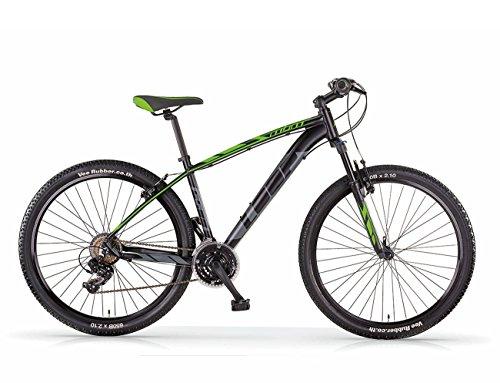MBM Loop 27.5 MTB all 21S SUSP Fork, Bici Unisex Adulto, Verde A10, 43