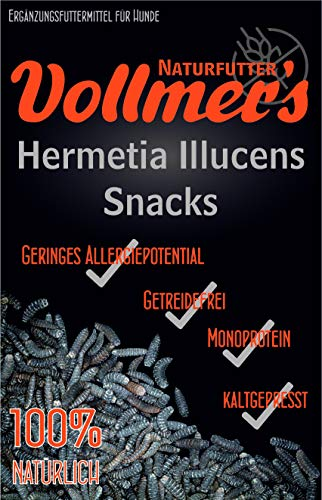 Vollmers Hermetia Illucens Snacks | 250g