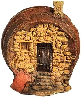 Top Collection Enchanted Story Garden and Terrarium Barrel Fairy House Outdoor Decor
