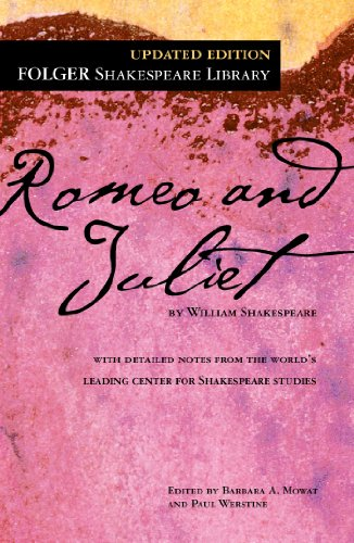 Compare Textbook Prices for Romeo and Juliet Folger Shakespeare Library Updated ed. Edition ISBN 9781451621709 by Shakespeare, William,Mowat, Dr. Barbara A.,Werstine Ph.D., Paul