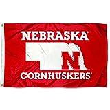 Nebraska Cornhuskers State Marker Flag