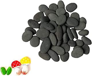 Lifetop 50pcs Tiny Painting Rocks DIY Rocks for Painting Detail-Painting Rocks Smooth Surface Stones,Arts and Crafts ,0.5 to 1.0 inches ,So Small Rocks,Hand Picked for Painting Rocks …