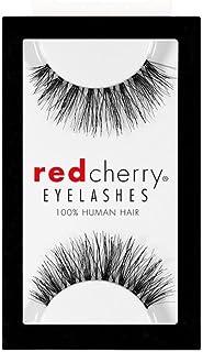 Red Cherry Eye Lashes STEVI 43 (1 Pair)