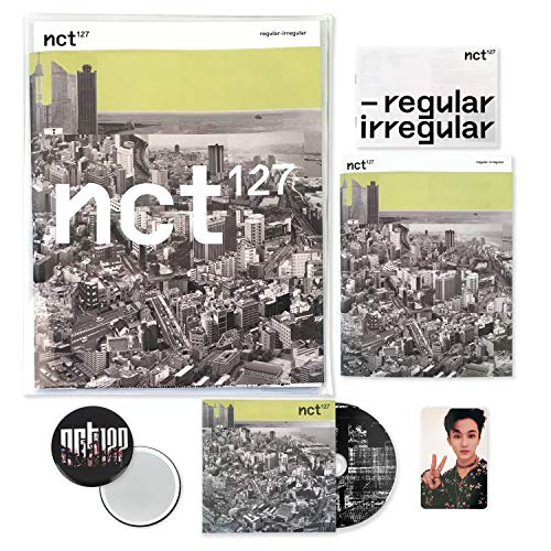 NCT 127 1st Album - NCT # 127 Regular-Irregular [ REGULAR ver. ] CD + Booklet + Lyrics Book + Photocard + FREE GIFT / K-pop Sealed