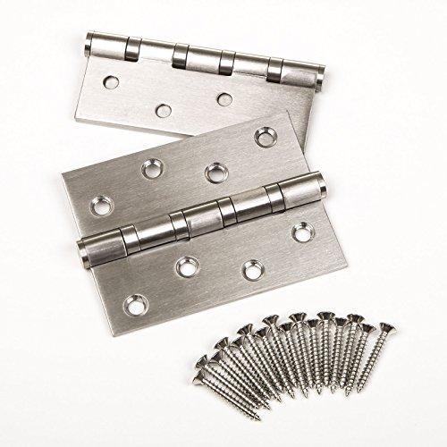 2 piezas SO-TECH® 101 mm Bisagra de Puerta Acero Inoxidable Rodamiento de...