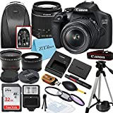 Canon EOS 2000D / Rebel T7 DSLR Camera with EF-S 18-55mm Zoom Lens + SanDisk...
