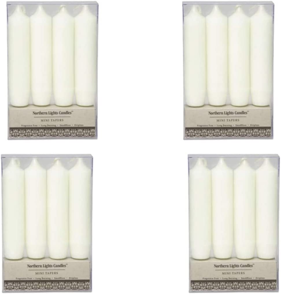 Northern Lights Candles - Rustic Max 79% OFF pc. Tapers Mini Fou 4 Max 66% OFF