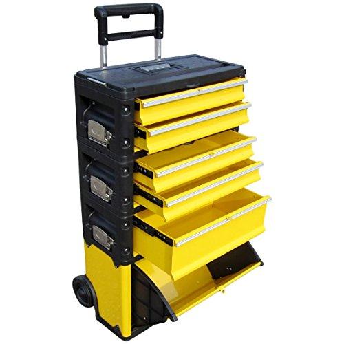 ASS Metall Werkzeugtrolley Werkstattwagen XXL Type: 305BBCD -> jetzt neu mit Schubladenverriegelung und Schloss