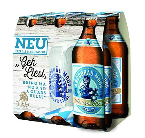 Sixpack Mooser Liesl 6 Stück Bier 0,33 Liter